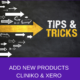 Adding Products in Cliniko + Xero